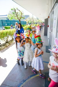 Creative Creations Galore at Kindergarten Spring Hat Parade!