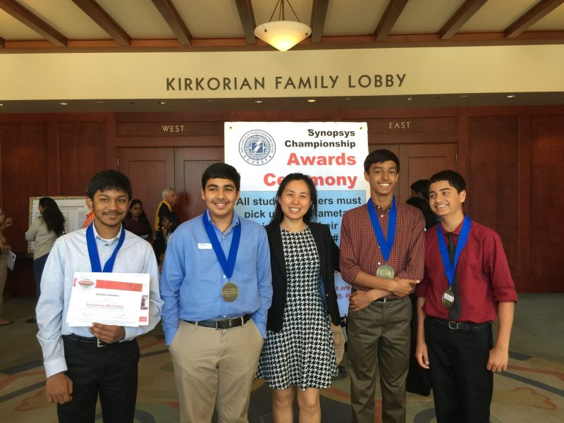Middle and Upper School Students Enjoy Successful Weekend at 2015 Synopsys Championship