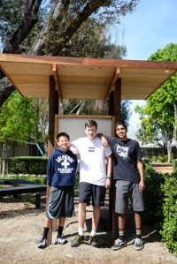 Student Builds Upper School Kiosk for Eagle Scout Project