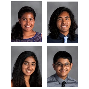 Four Students Chosen for National Honor Choir