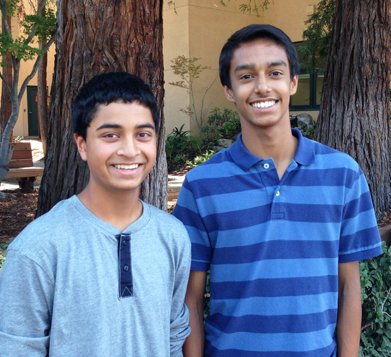 Update: Freshmen Trio Named  Broadcom MASTERS Semifinalists for Dehydration and Biometric Research