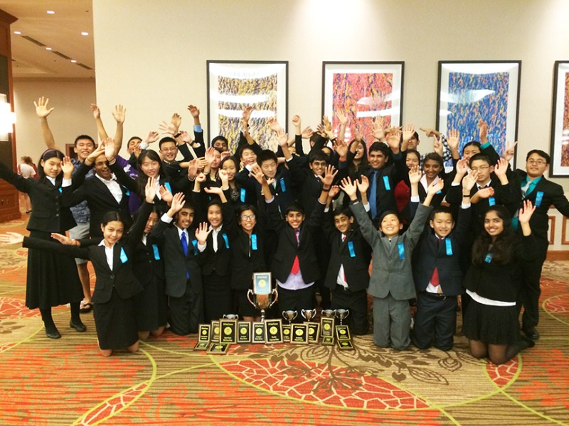 Upper and Middle School Debate Teams Accrue National Honors