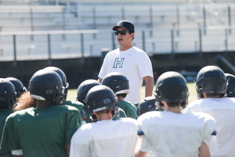 New Football Coach Has Solid Plan for Success