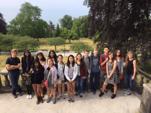 Students Reunite with Overseas Friends During Swiss Excursion