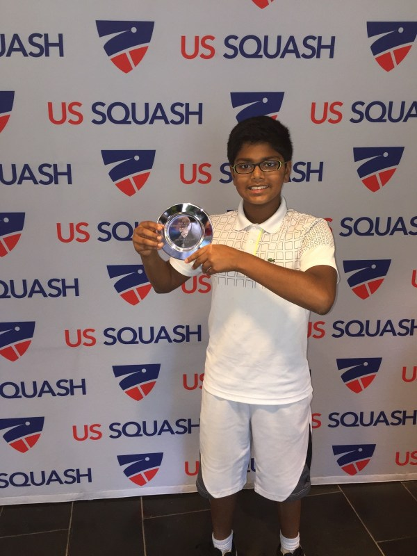 Kudos: MS Student Performs Admirably in Squash Tournament, Reaches Top 10 Ranking