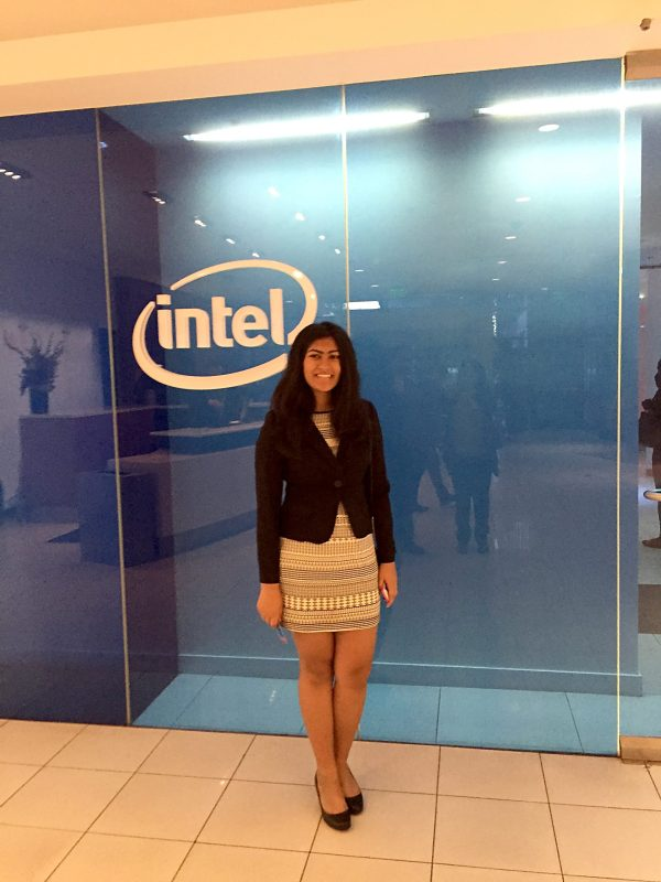 Student Joins Girls Who Code Panel for Intel Education Visionaries Conference