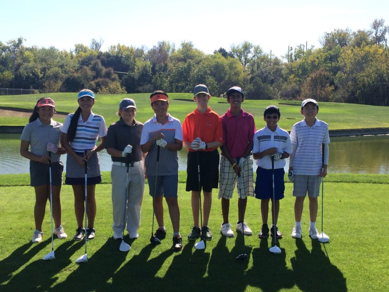 MS Golf Takes Second in WBAL Tournament