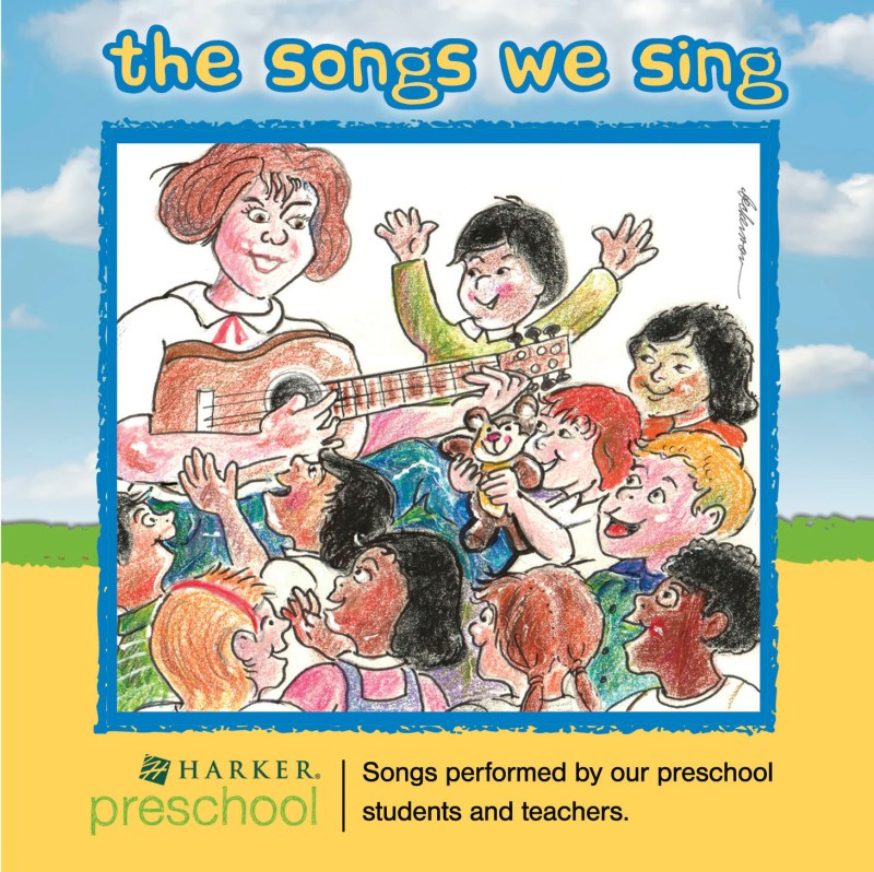 Harker Preschool Students Record and Release Their First Musical Album!