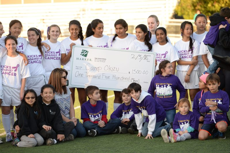 Camp Okizu Real Winner of Kicks Against Cancer Soccer Games