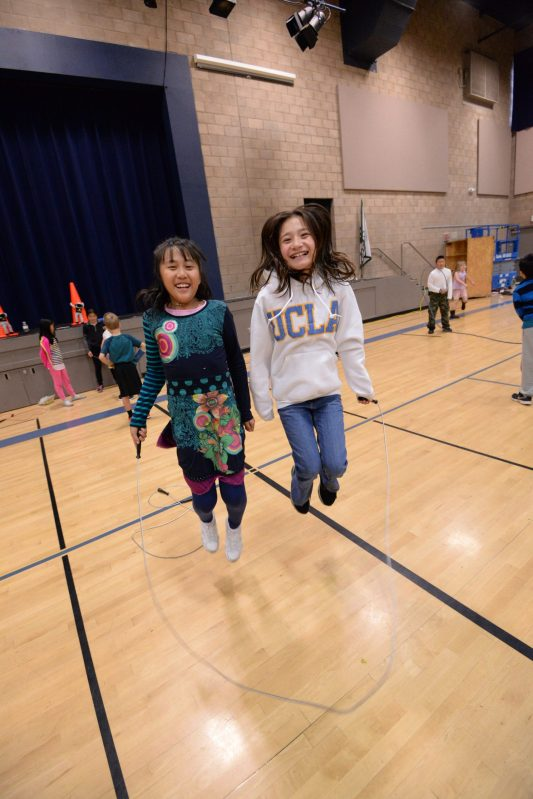 Lower School Students Jump Rope for Fundraiser Benefiting American Heart Association