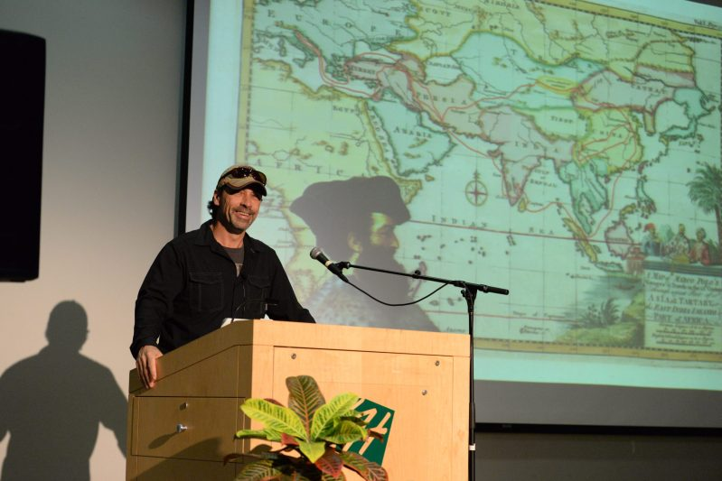 Denis Belliveau Follows 'In the Footsteps of Marco Polo' at the Harker Speaker Series