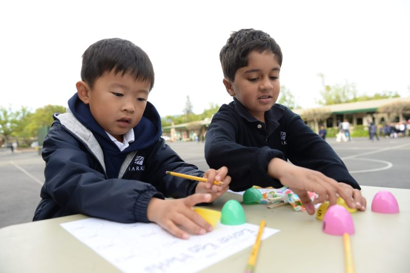 K-2 Students Take Learning Outside During Second Annual Spring Fling Math Extravaganza