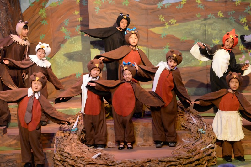 Kindergarten Performers Learn to Take Flight at Annual Kindergarten Show