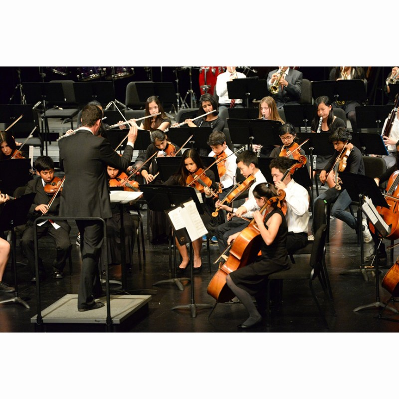 Middle School Orchestra Receives Unanimous Superior Rating at CMEA Festival