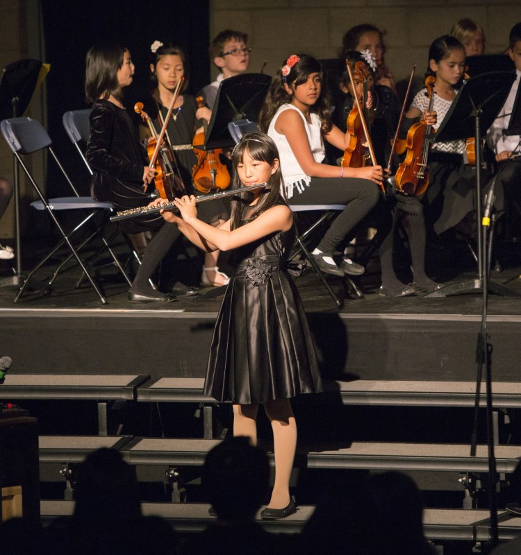 Lower School Musicians Perform Diverse Selection at Spring Concert