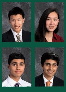 Four Awarded Prizes at Intel International Science and Engineering Fair