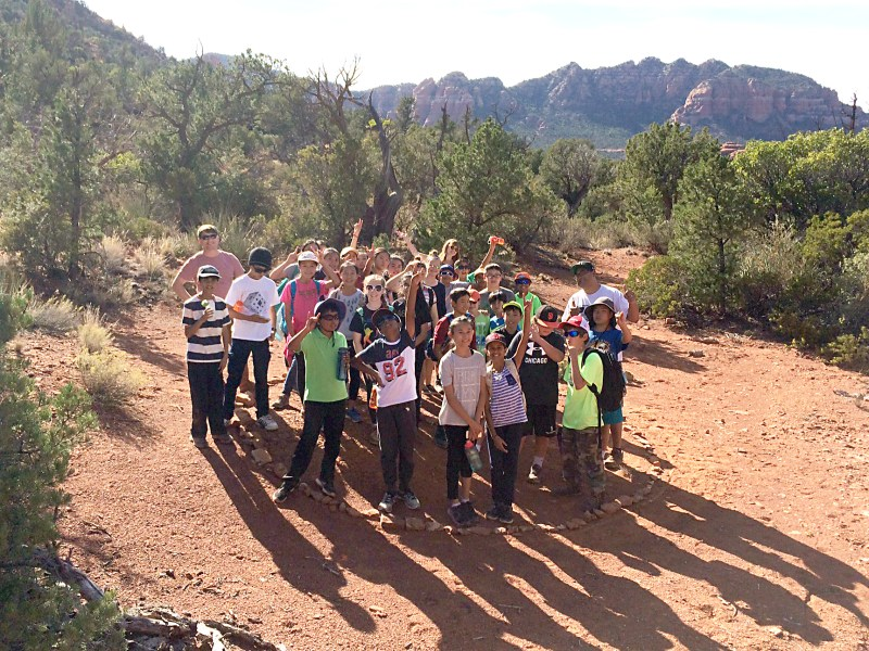 Seventh graders tour national parks