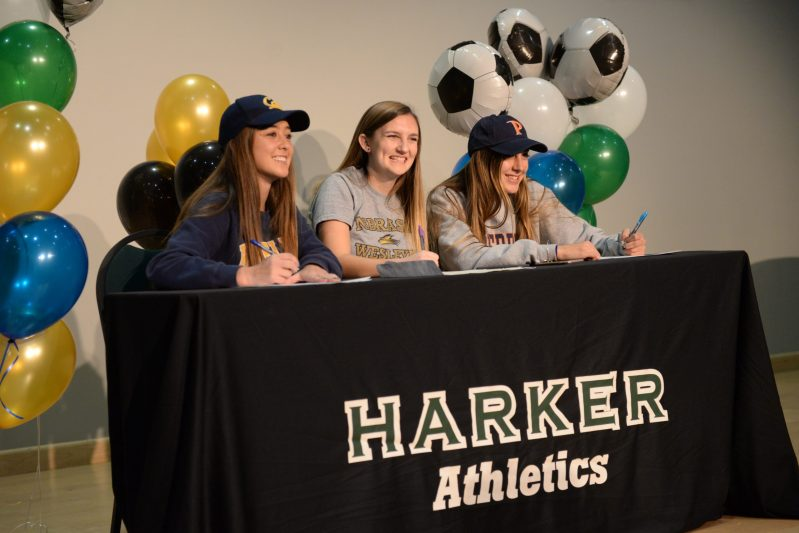 Three seniors commit to play college soccer during National Signing Day