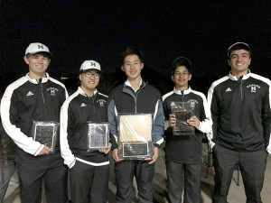 Boys golf makes school history; kudos for Thompson; alumna Connell '13 breaks own record