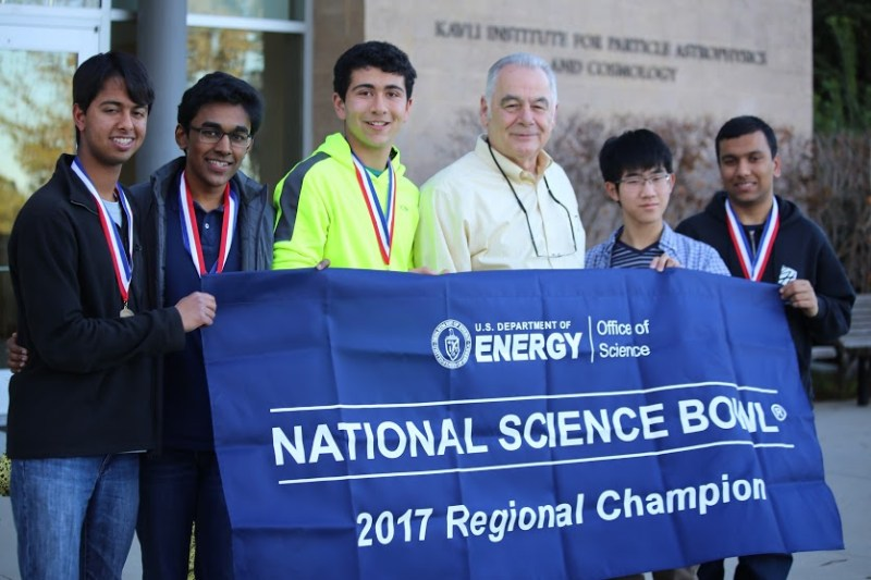 Science Bowl team headed to nationals after winning regional competition