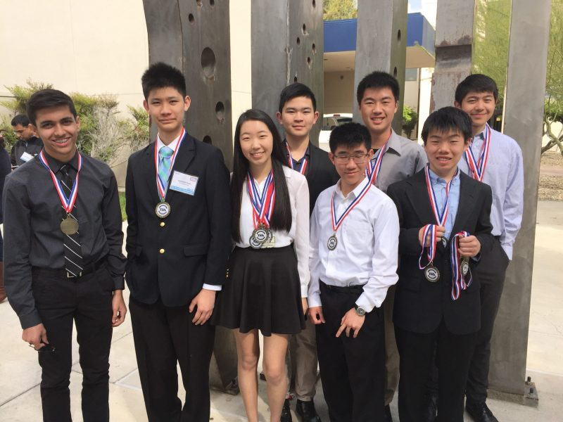 Harker TSA members enjoy successful weekend at state conference