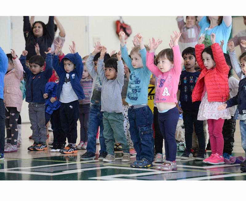 Arts LIVE for Three to FIVE! dance concert at Harker Preschool