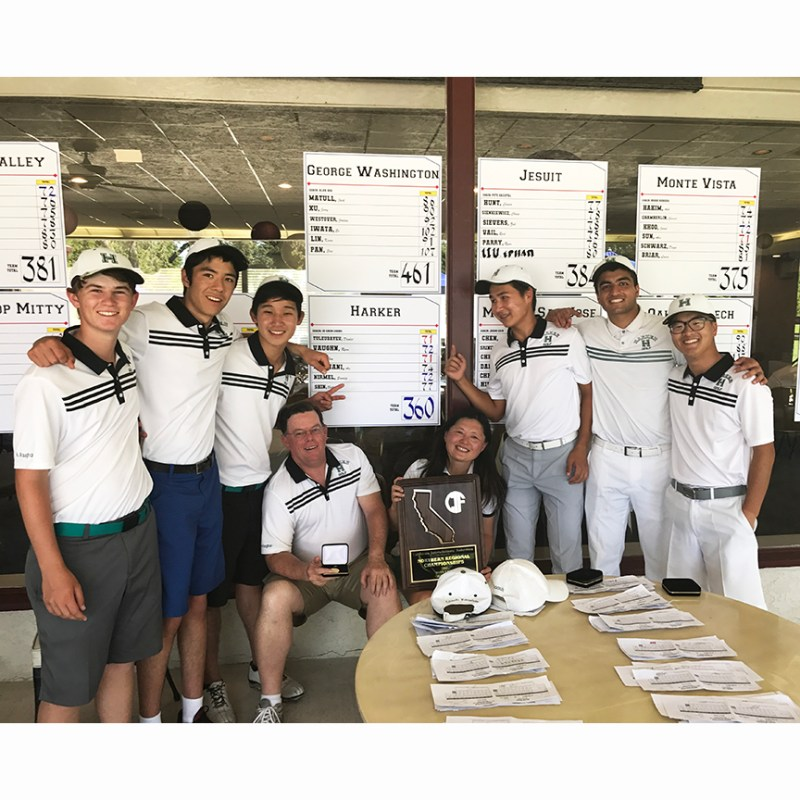 Varsity linksmen take Harker's first-ever boys NorCal Championship