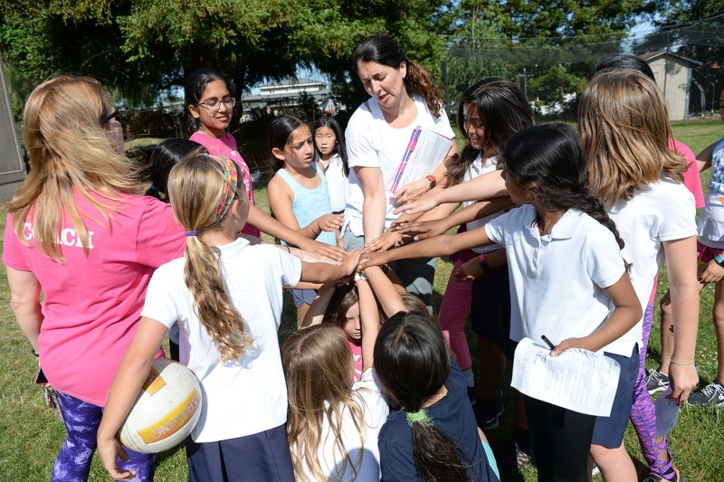 Girls on the Run program helps lower school students gain confidence and kindness