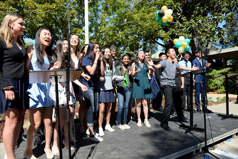 2017-18 upper school year begins with matriculation ceremony