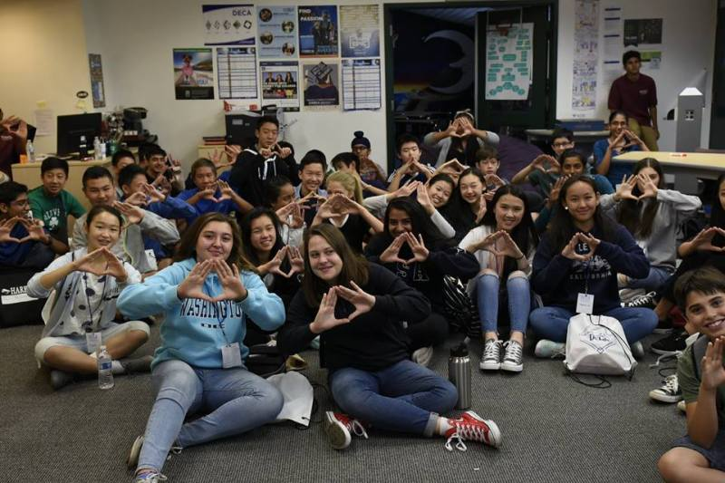 Harker DECA welcomes new members to the 2017-18DECA year with annual DECA Launch