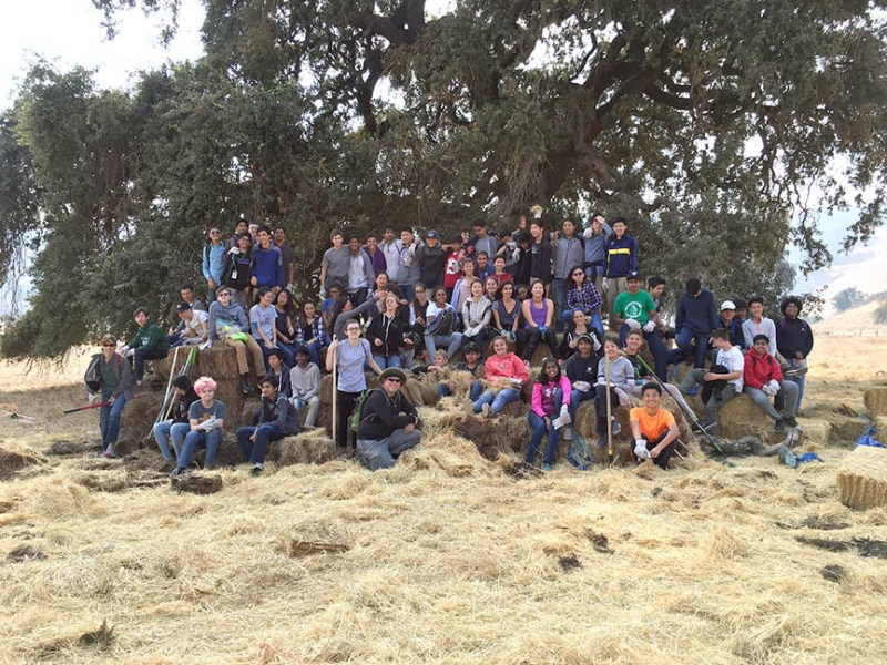 Students help protect and maintain Coyote Valley Open Space Preserve