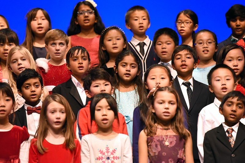 Grades 1-3 holiday shows bring seasonal cheer as community heads into winter break