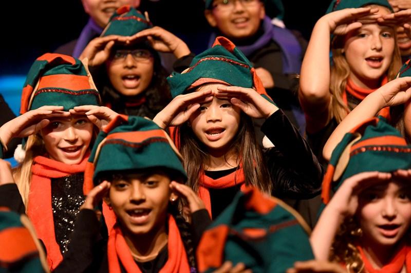 Lower school musicians perform at Winter Concert