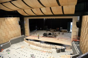 Students bringing Rothschild Performing Arts Center to life at grand opening Feb. 2