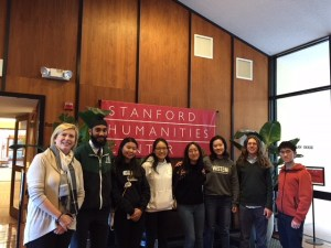 Near-Mitra scholars meet with fellows at Stanford Humanities Center
