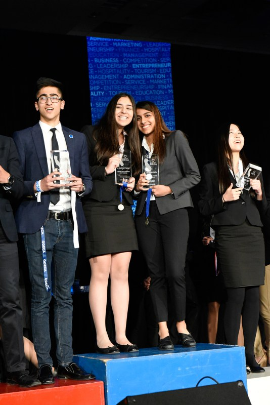Harker DECA performs impressively at State Career Development Conference