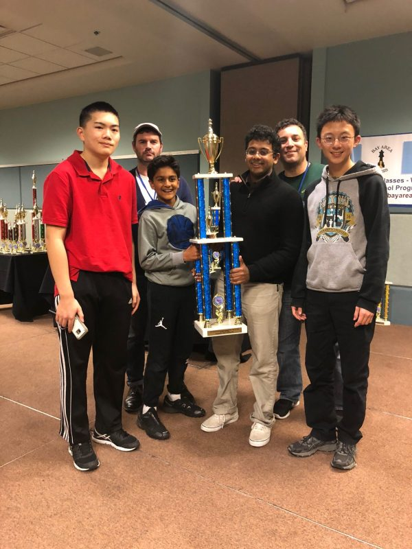 Multiple wins for Harker students at CalChess State Scholastic Championship