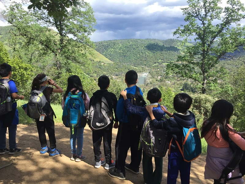 Fourth graders enjoy history and nature on annual Coloma trip