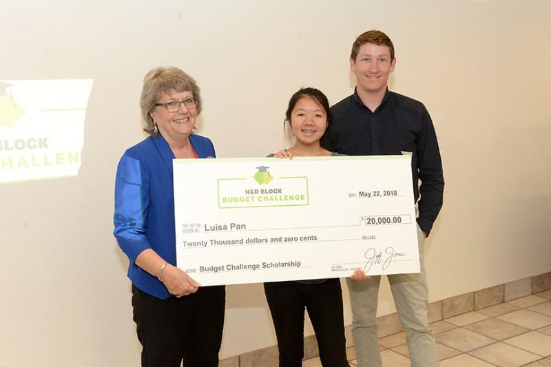 Three-peat: Third Harker student wins $20,000 H&R Block Challenge