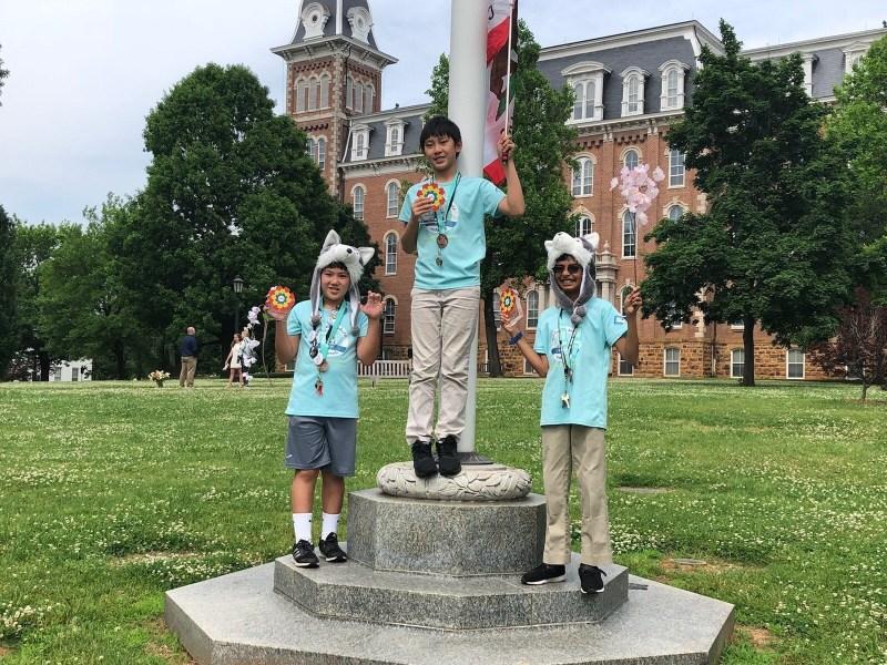 Grade 6 robotics competitors finish strong at world-level event