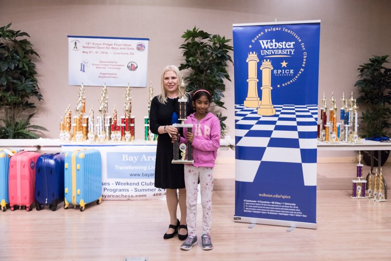 Sibling chess players win respective sections at Susan Polgar Foundation National Open