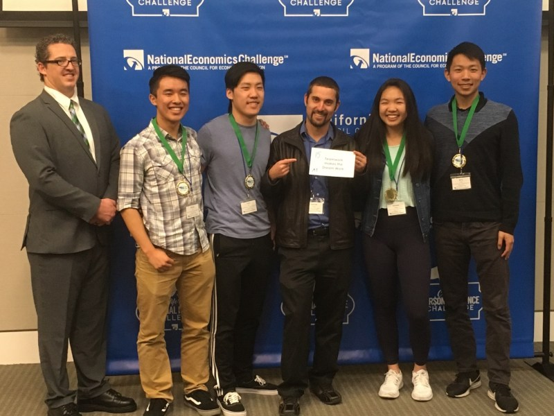 National Economics Challenge team qualifies for national finals