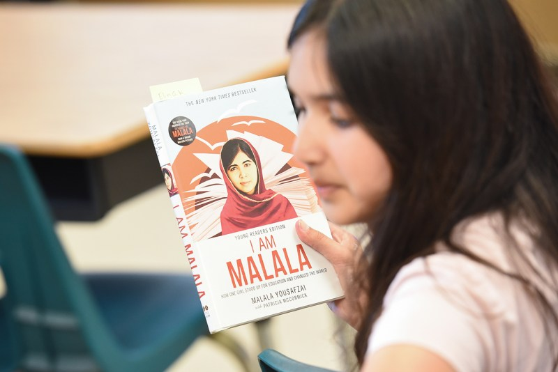 Middle schoolers examine the development of history via the story of Pakistani activist
