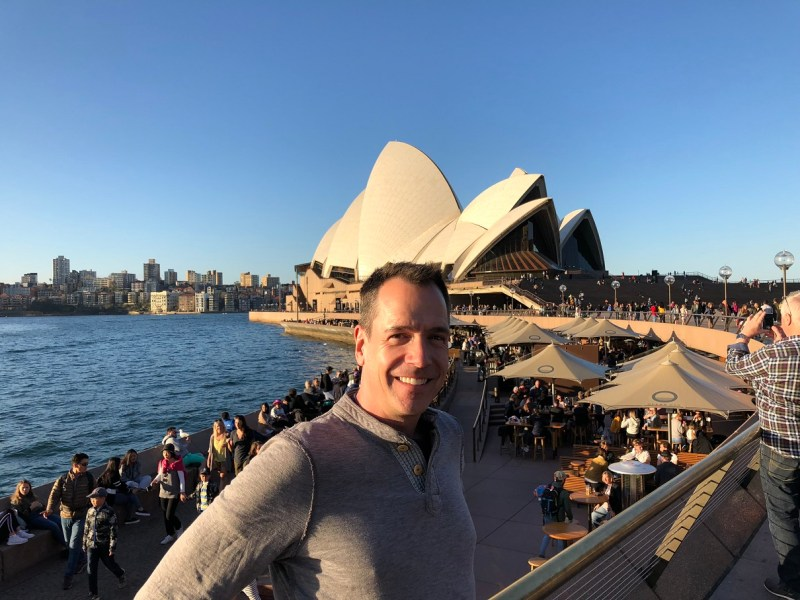 Theater teacher visits Australia on exchange with St. Stephen's College