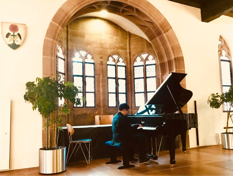 Kudos: Student pianist invited to perform at German music festival