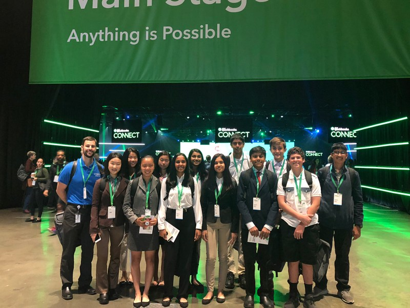 Students attend QuickBooks Connect Conference as part of CareerConnect program
