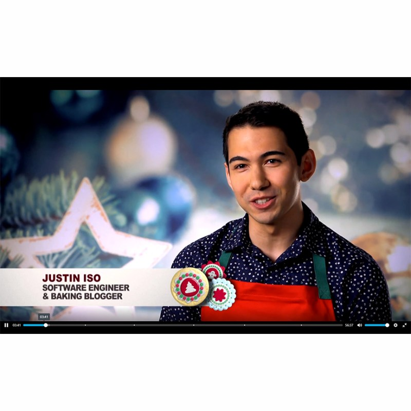 Alumnus '09 has big win on Food Network with Christmas cookies