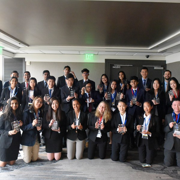 Harker DECA performs admirably at the Silicon Valley Career Development Conference