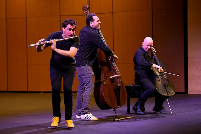 PROJECT Trio ends Harker Concert Series season in fun-loving fashion