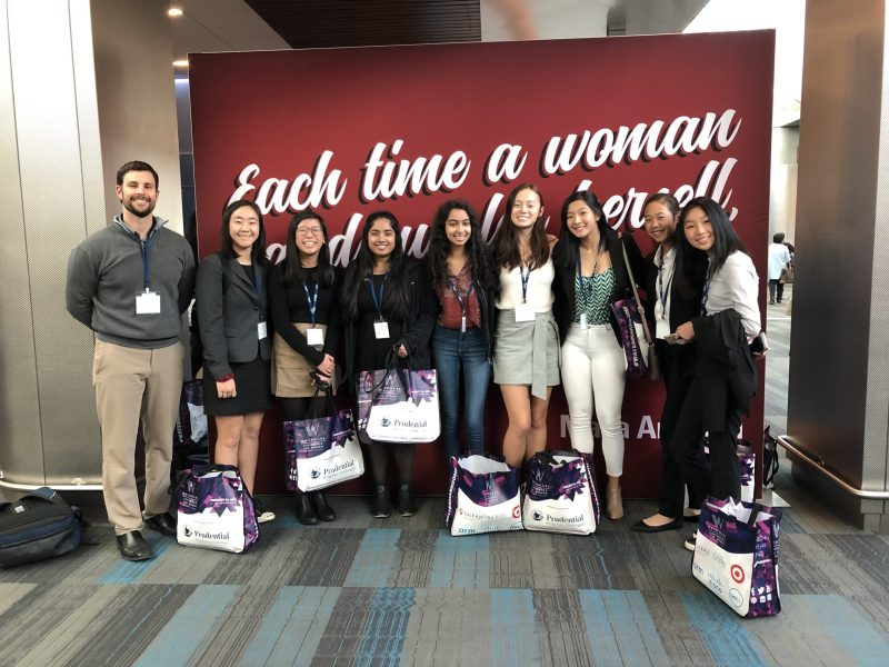 Nine students attend 2019 Watermark Conference courtesy of CareerConnect